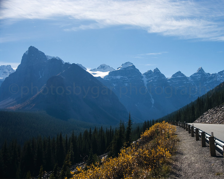 Valley of the Ten Peaks, Banff Park, Alberta