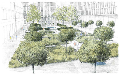 Jellicoe Garden - Kings Cross, London