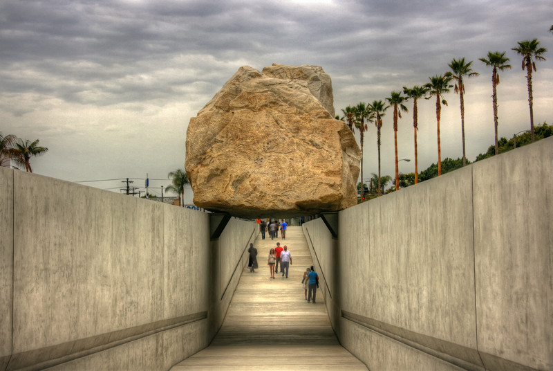 Levitated Mass