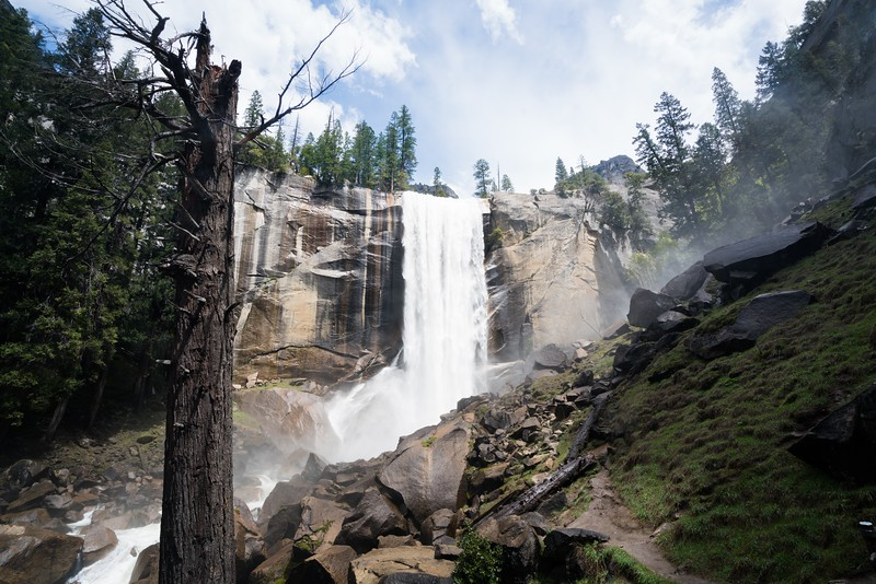 Vernal Falls in May