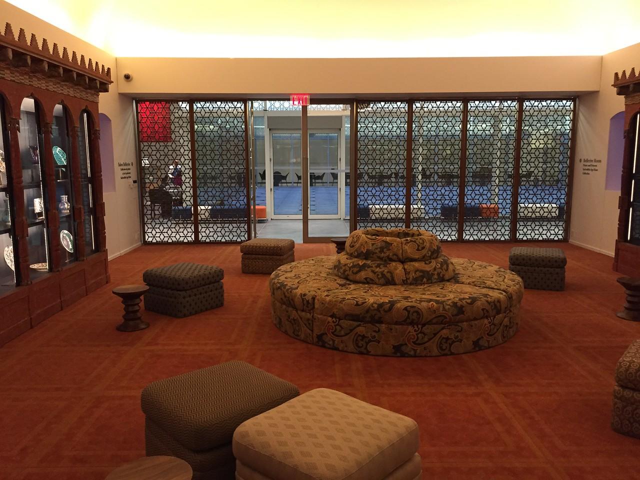 Bellerive Room, Aga Khan Museum. Toronto, Canada.