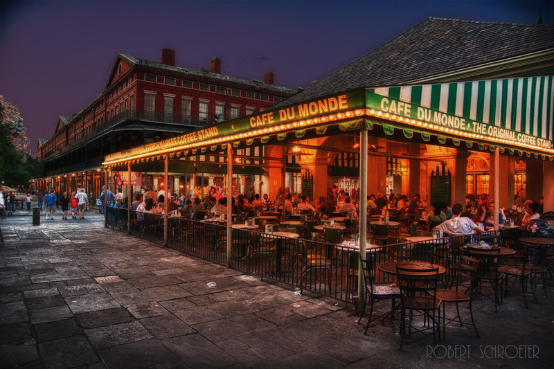 Cafe Du Monde, New Orleans