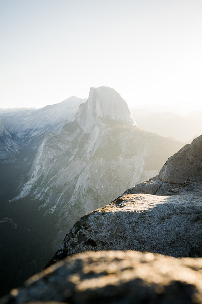 Sunrise at Half Dome