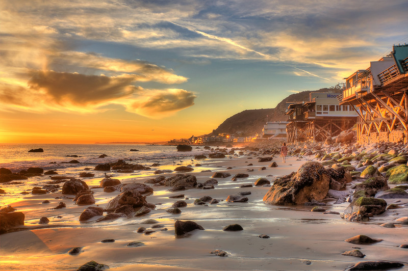 Big Rock Beach, Malibu, California