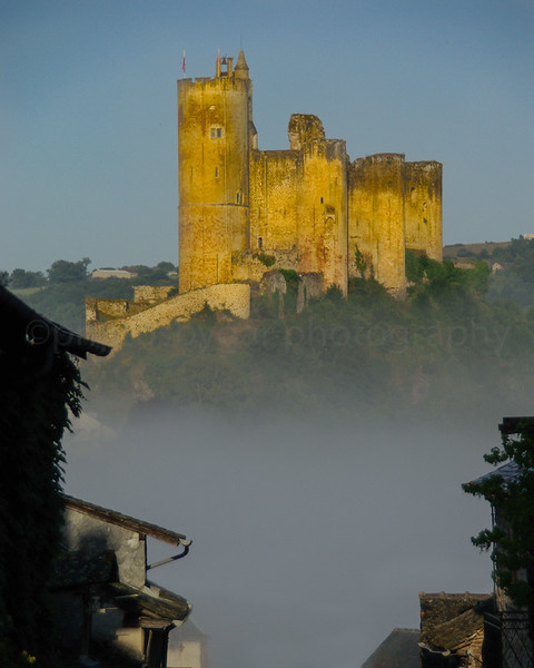 Najac Castle, Aveyron, France