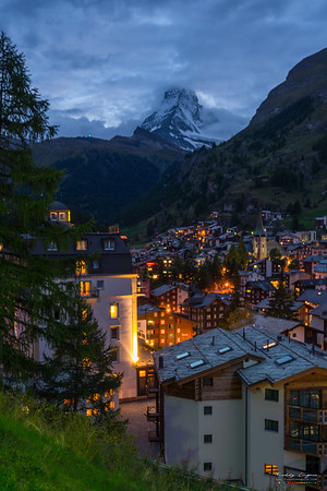 Zermatt sunset