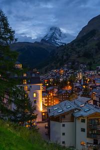 Zermatt sunset