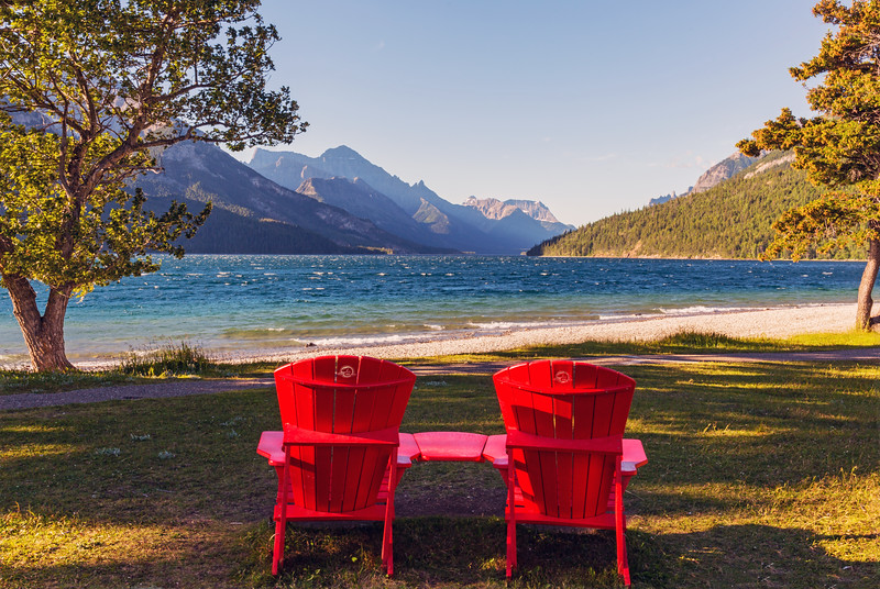The Red Chair View