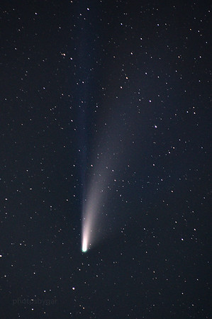 Comet Neowise  July 27, 2020 Near Calgary, Alberta, Canada