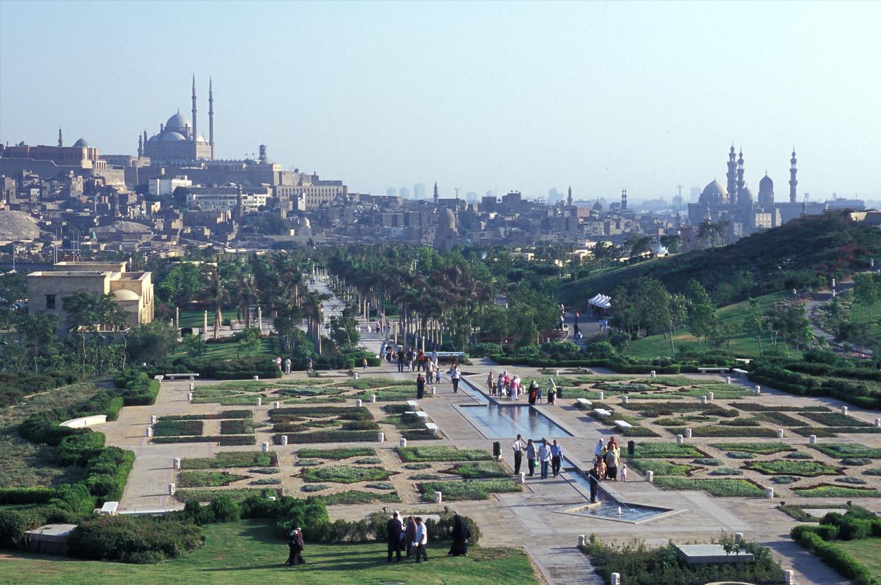 Al-Azhar Park, Cairo, Egypt