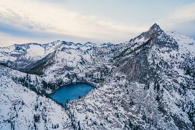 Trinity Alps Aerial