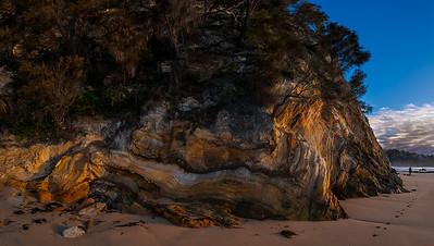 Rocks of Denhams Beach