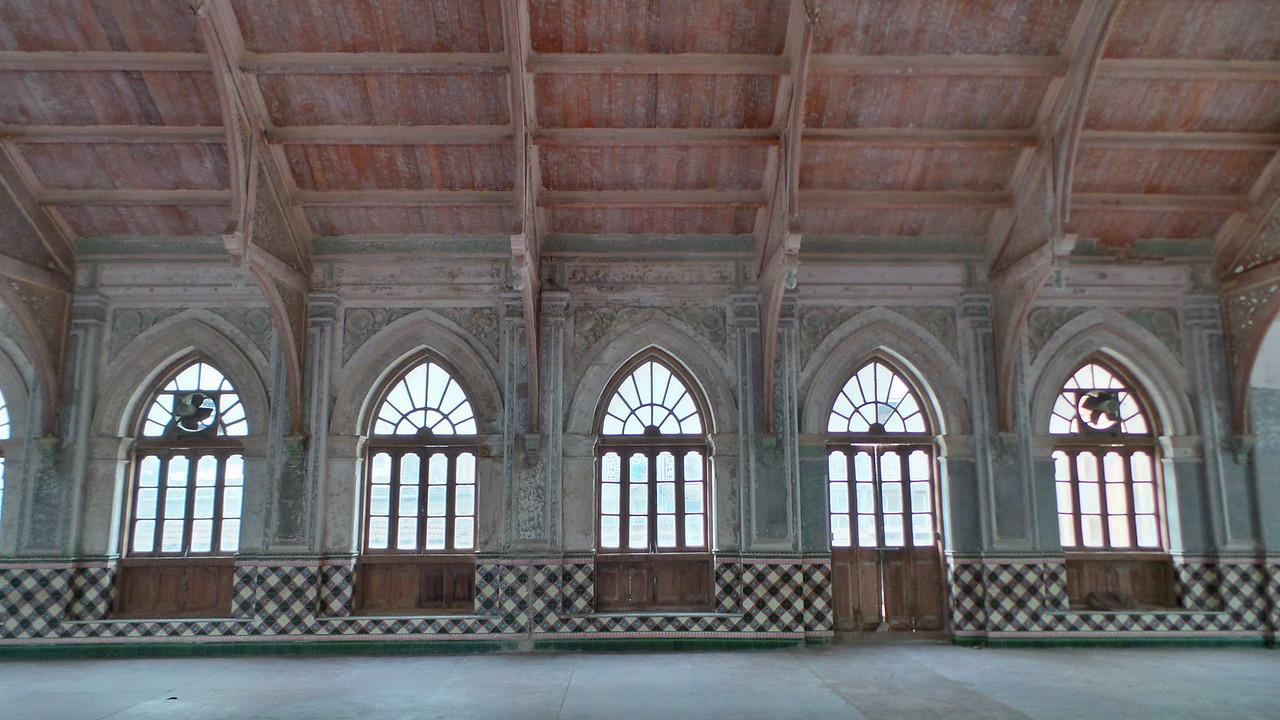 Old prayer hall within India's Darkhana, Mumbai.