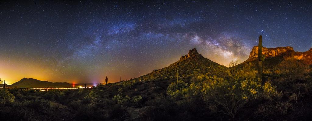 Picacho Peak Panoramic