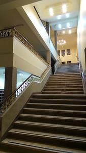 Staircase of Upanga Jamatkhana, Dar es Salam.