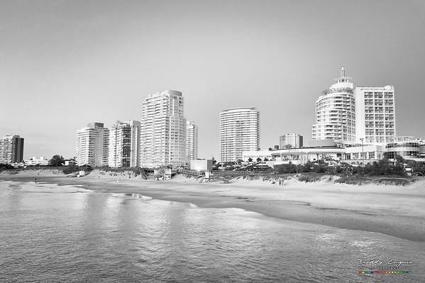 Modern beach