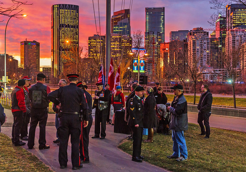 Field Of Crosses - Sunrise Ceremony