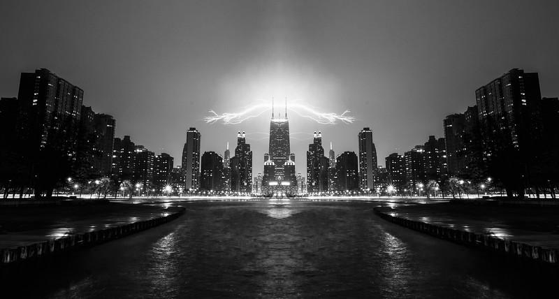 Mirror'd Willis Tower - Chicago