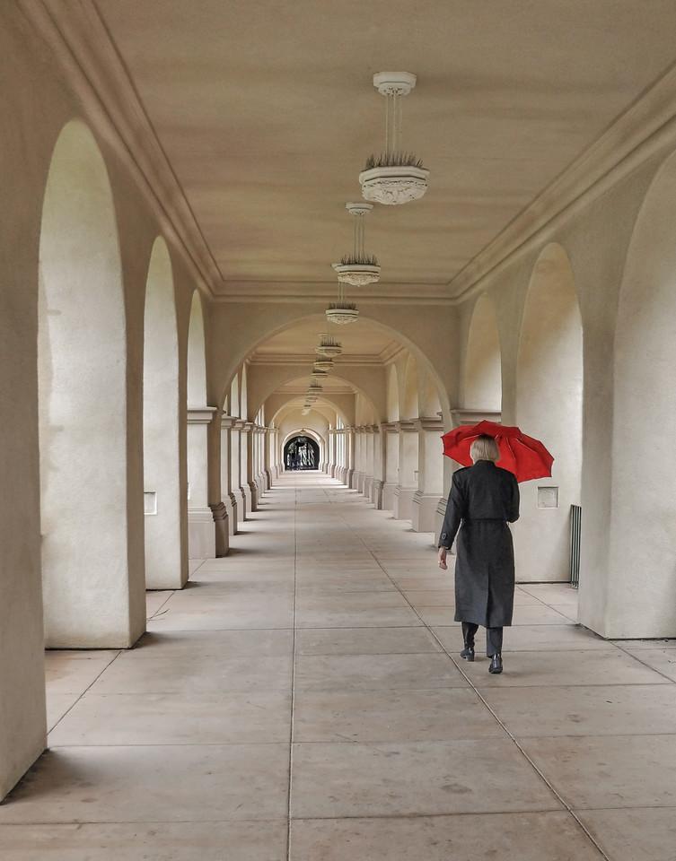 Rainy Day in Balboa Park