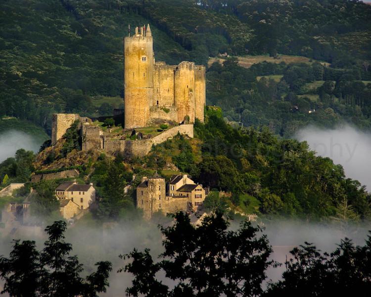 Najac Castle, Najac,  Aveyron, France