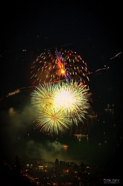 Swiss style fireworks