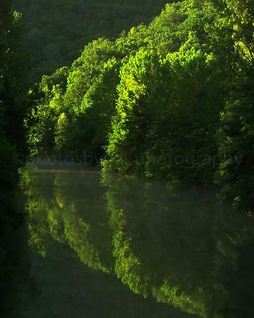 Aveyron River, France