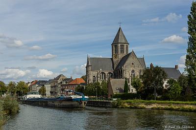 Onze-Lieve-Vrouwekerk aan de Schelde te Oudenaarde