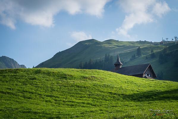 Wavy church