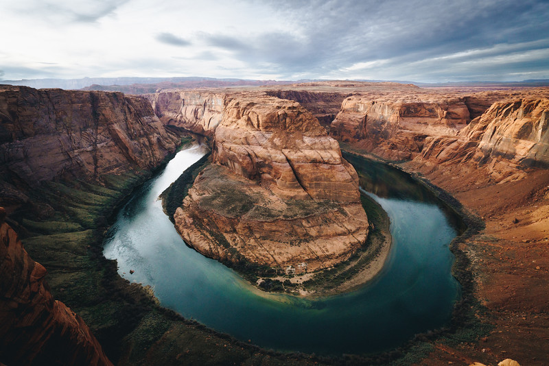 Classic View at Horseshoe Bend