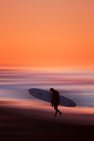 Morning Surfer