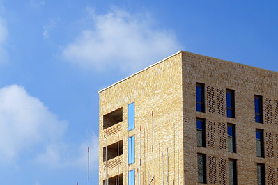 New residence building for IIS & AKU students.  Kings Cross, London, UK