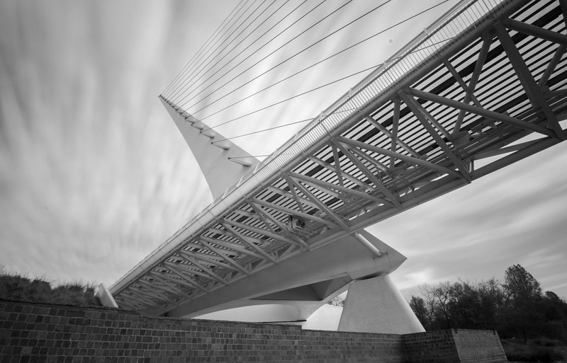 Sundial Bridge Long Exposure