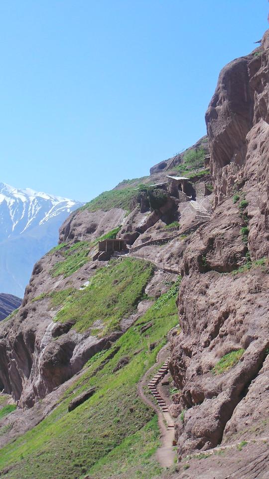 Pathway to Alamut, Iran