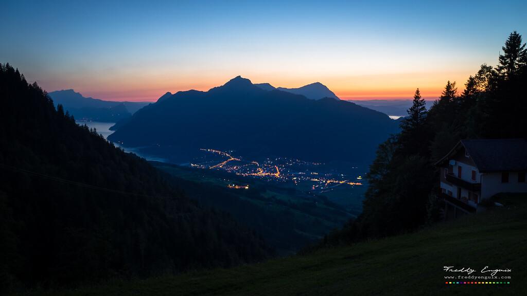 Darkening valley