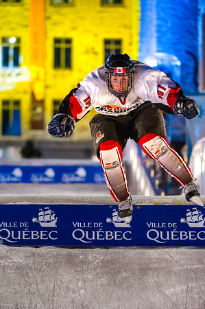Event: Red Bull Crashed Ice Location: Quebec, Quebec Athlete: Robin Beauchemin 107