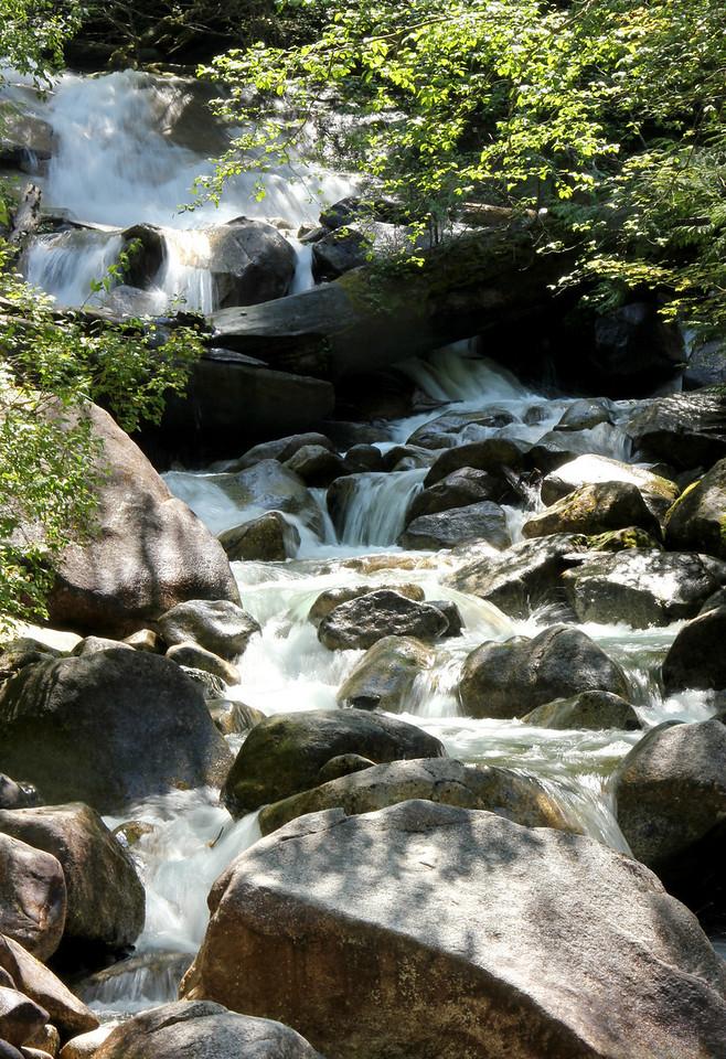 Below Shannon Falls
