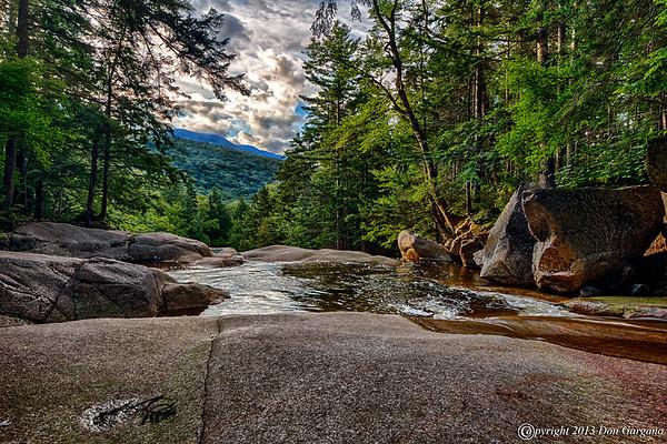 The Basin and Cascade Brook
