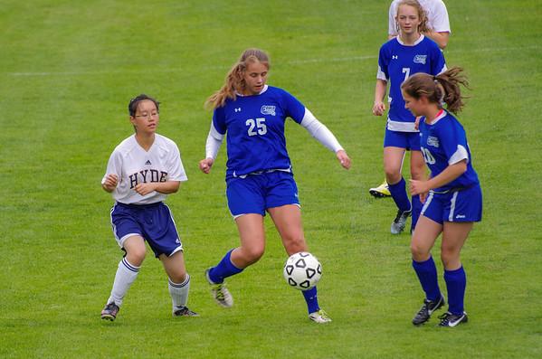 Soccer - JV Girls 2013-14