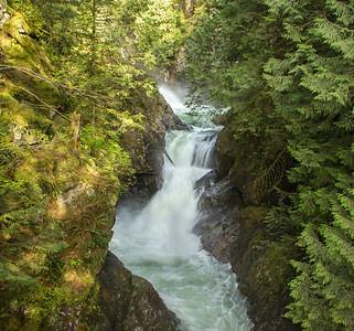 Twin Falls - Upper Falls
