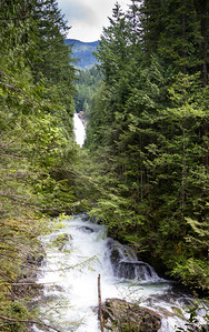Wallace Falls - Middle Falls