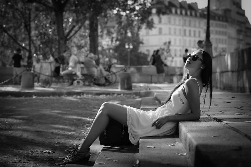 Marie, Un Jour D' Aout 2019 à Paris