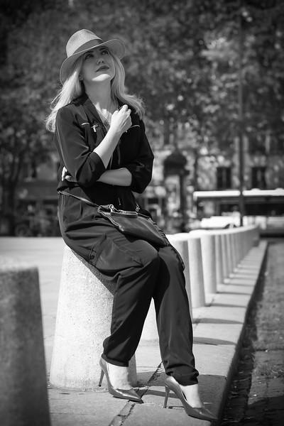 Natasha, Un Jour d' Août 2019, A Paris
