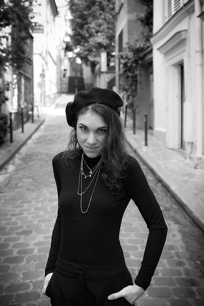 Lison, Un Jour de Mai 2019, à Montmartre