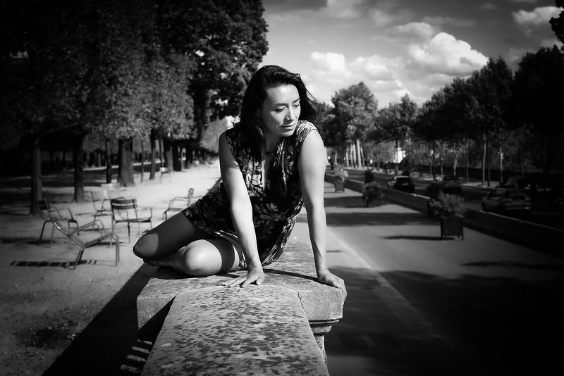 Nova Delaube, Un Jour d' Aout 2019, à Paris