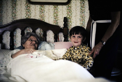 When Gordon saw this picture, he said he remembers seeing Grandmother DeBord.  He was only 3, but maybe it's possible.