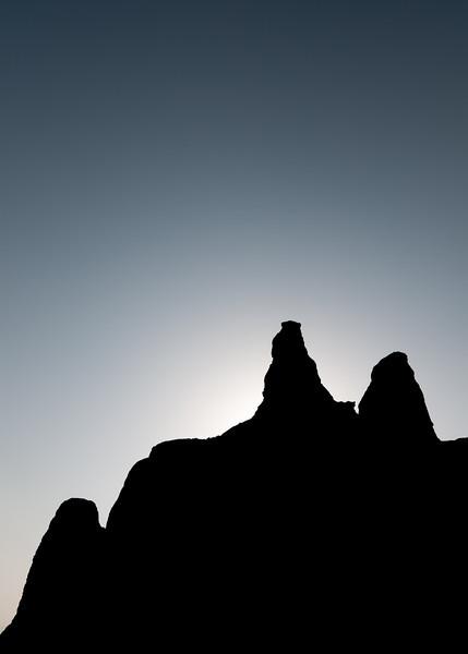 Black & White Silhouette (Arizona)