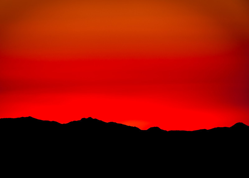 Silhouette Sunset (Arizona)