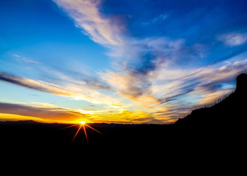 Gates Pass Sunset (Arizona)