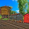 Railway Workyard (New Mexico)