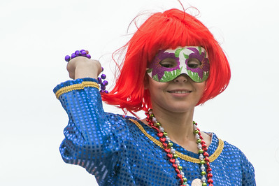 Mardi Gras 2018 Krewe of Iris New Orleans, Louisiana